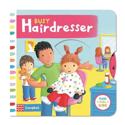 Book cover for Busy Hairdresser